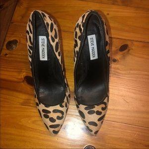 Steve Madden Cheetah Gallery Pumps 8.5